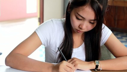 Women White T-Shirt Writing