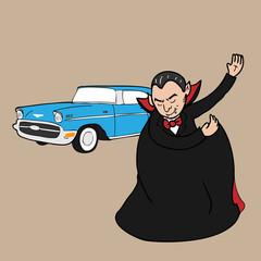 Vampire classic car