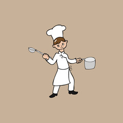 Young chef