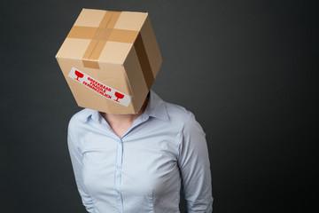 Business Failure - Head in a Box