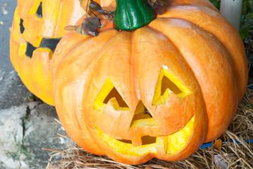 Halloween Pumpkin .