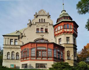 Richters Villa - Poland, Lodz,Today building rector