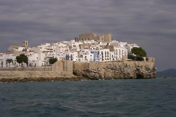 Peñíscola ciudad en el mar