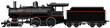 the old steam locomotive - 71388493