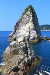 南さつま海道八景 後浜展望所の立神岩