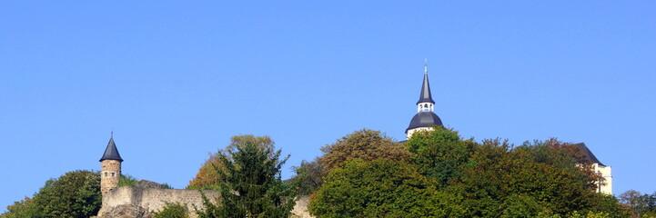 Michaelsberg mit Benediktinerabtei in SIEGBURG