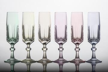 Multicolor glass