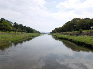 賀茂川の情景1
