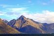 Mountain and Lake Landscape New Zealand