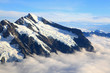Mount cook with sea of mist