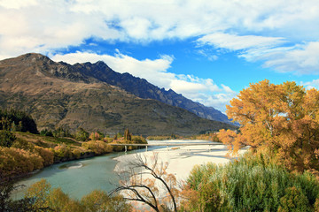 Mountain and River in Queenstown