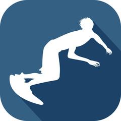 icône surfeur
