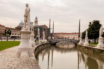 Prato della Valle, Padova, Veneto, Italia