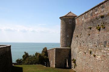 Mur de l'enceinte du Fort de Fouras