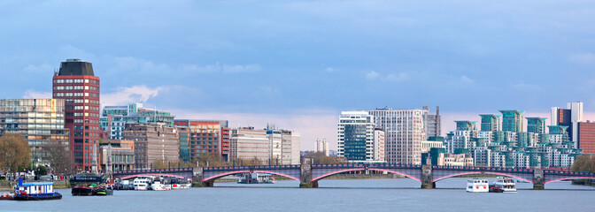 Panorama of London Skylines
