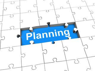 Planning puzzle