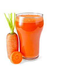 Juice carrot orange