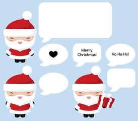 Kawaii Santa Says