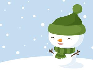 Kawaii Snowman