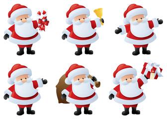 Santa in Action