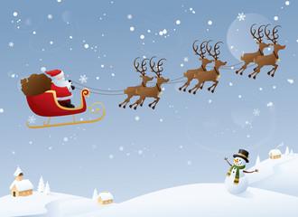 Santa's Travels