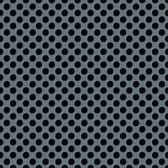 Metallic seamless perforated sheet