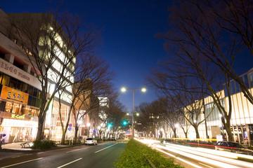 表参道の夜景