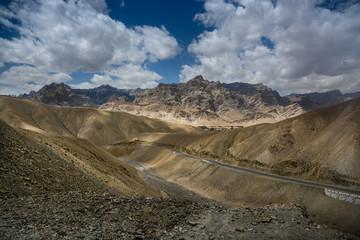 Karakorum scene from highway