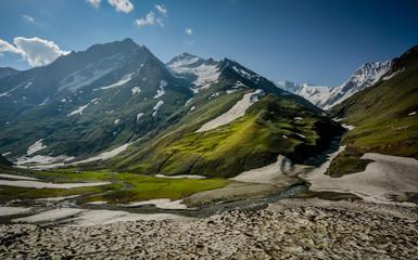 Himalaya scene from kashmir