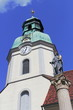 canvas print picture - Stadtkirche in Ruhland