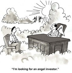 """I'm looking for an angel investor."""