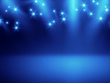 Fototapety stage lights background