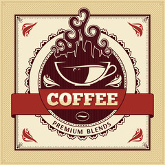 Vintage Coffee Label