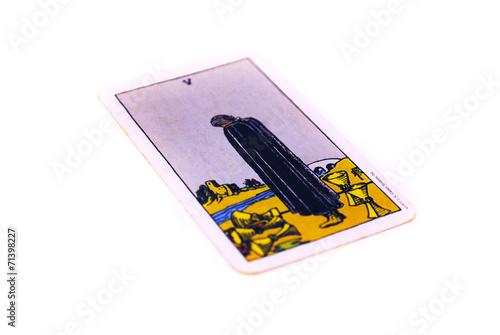 タロットカード カップ5