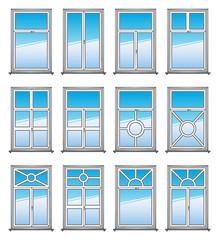Vector Windows Set