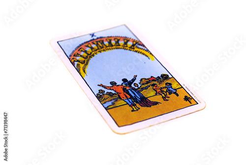 タロットカード カップ10