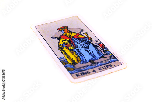 タロットカード カップ キング