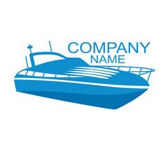 an logo is a yacht
