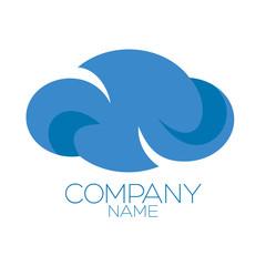 an logo is a cloud