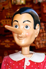 Pinocchio - Holzfigur