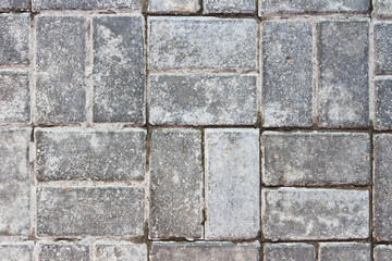 abstract background of gray  paving slabs
