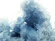 Leinwandbild Motiv celestite geode geological crystals