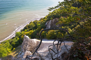 The Rocks on the island of Ruegen