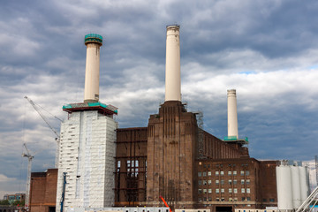 Battersea Power Station in Chelsea, London