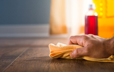 Hardwood floor cleaning and manteinance