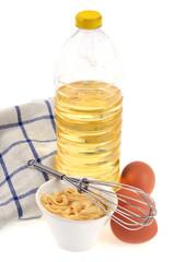 Tout pour préparer la mayonnaise