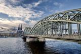 Fototapeta Most - Kölner_Brücke © Follow Me