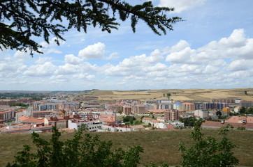 Vue de Burgos depuis la colline San Miguel