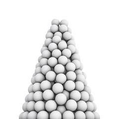 Golf balls peak