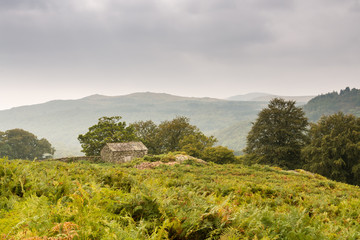 Stone Barn in Duddon Valley